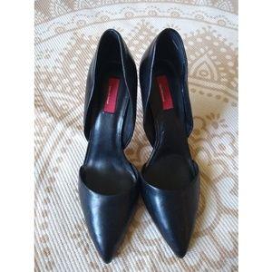 RED Saks Fifth Avenue | pointed toe Elsa stilettos